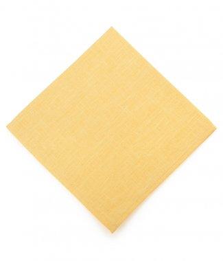 napkin on white