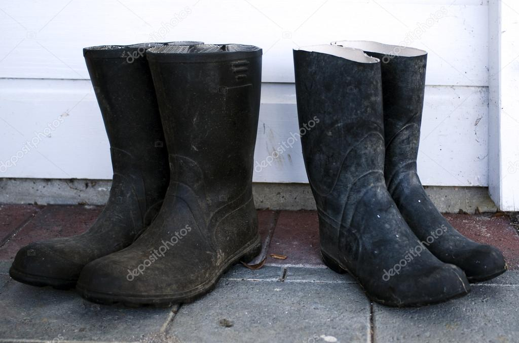 Garden boots — Stock Photo © lucidwaters #16276939