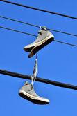 Fotografia scarpe vecchie