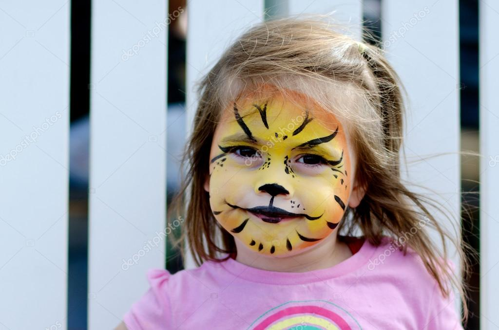 Face Painting Stock Photo C Lucidwaters 23939517
