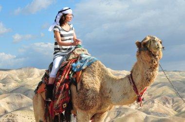 Camel Ride and Desert Activities in the Judean Desert Israel