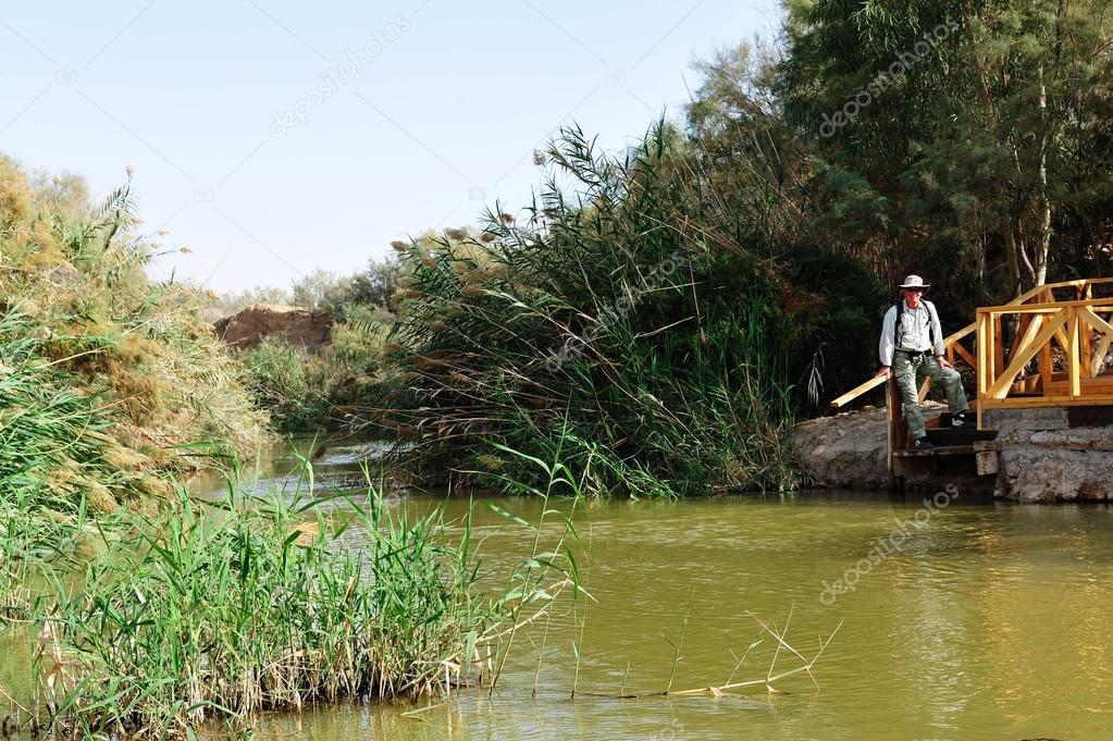 Qasr Al-Yahud - Jesus Baptismal Site - River Jordan Israel