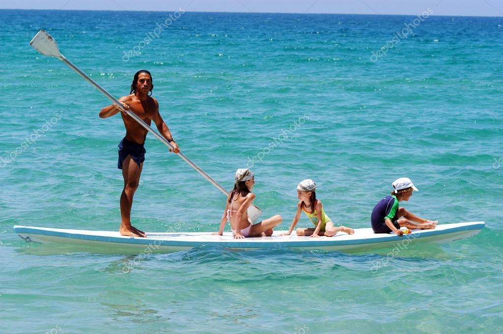 Israeli lifeguard on the Mediterranean Sea Coastline