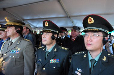 Military attaches