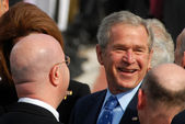 americký prezident george w. bush cesta do Izraele