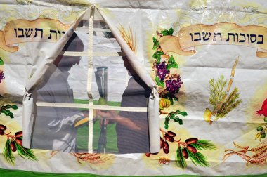 Israelis are preparing for the Jewish holiday Sukkoth
