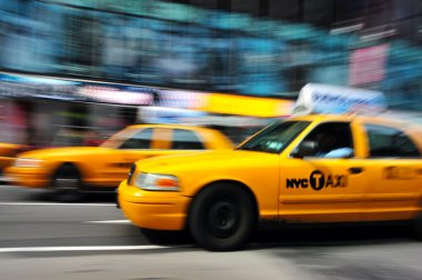 New York Yellow taxicab
