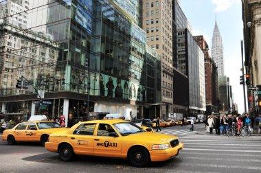 Chrysler building in Manhattan New York City