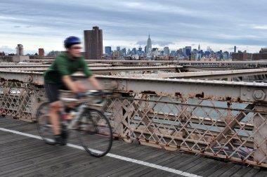 Brooklyn Bridge in Manhattan New York