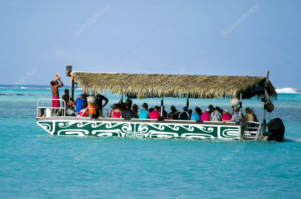 Muri Lagoon in Rarotonga Cook Islands