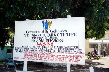 Cook Island Prison Rehabilitation Center in Rarotonga Cook Islan