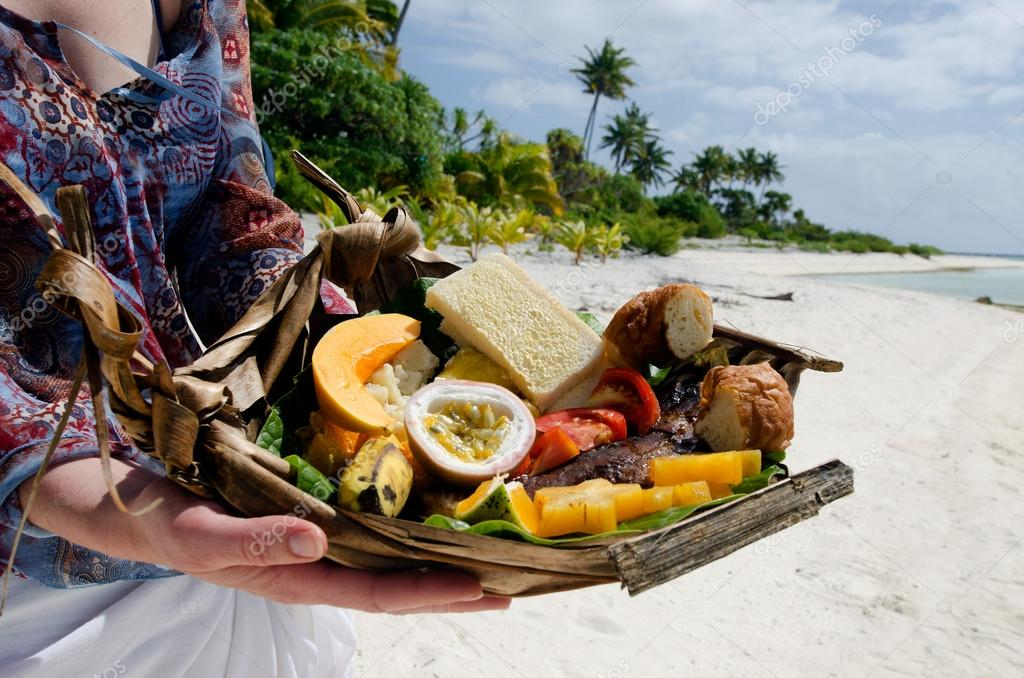 how to find food on deserted island