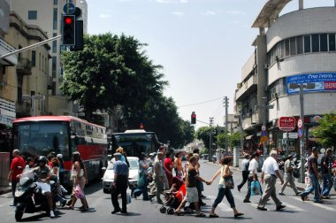 tel aviv İsrail - allenby street