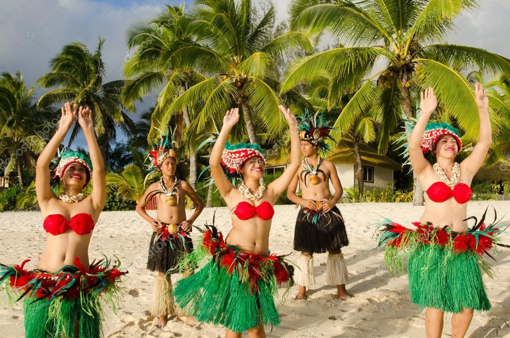 Polynesian Pacific Island Tahitian Dance Group