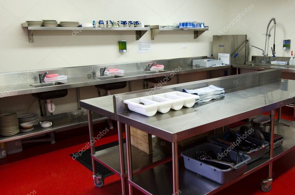 Oberfläche Und Küche Arbeitsmittel In Der Profi Küche U2014 Foto Von Lucidwaters
