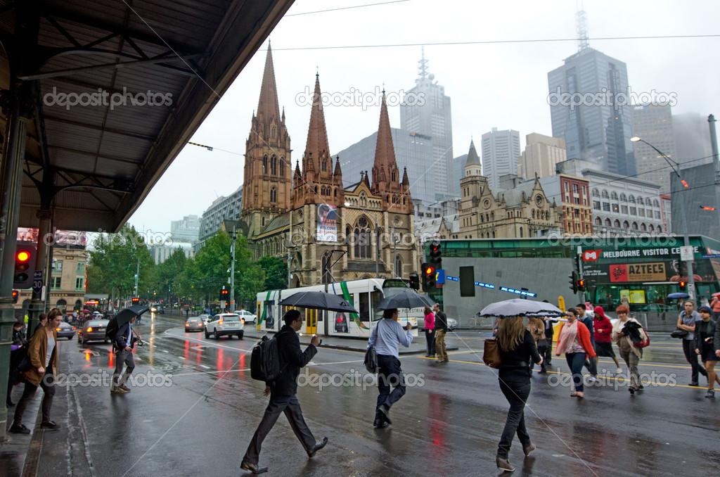 Js date in Melbourne