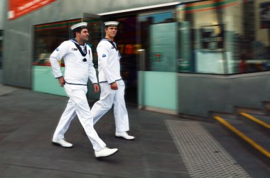 Royal Australian Navy sailors