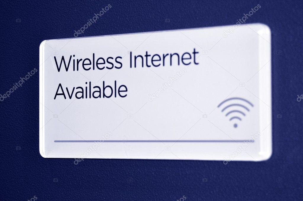 drahtlose Internet-Zeichen und symbol — Stockfoto © lucidwaters ...