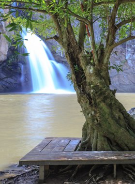 Chat trakan waterfall  at Chat Trakan Nationalpark Thailand