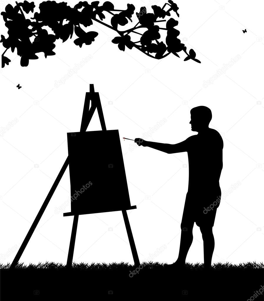 Ressam Şirin boyama