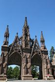 brány hřbitově Green-wood v Brooklynu