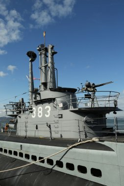 USS Pampanito, a Balao-class diesel-electric submarine earned six battle stars for World War II service