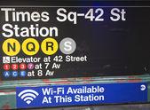Times square 42 st stanice Metro v New Yorku