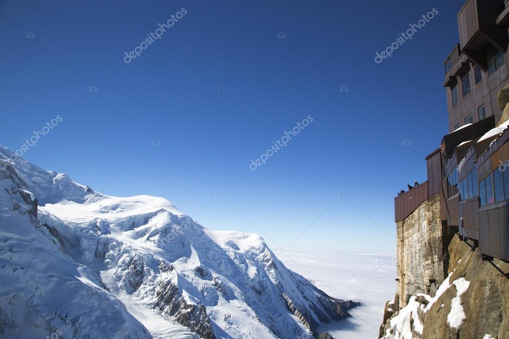 Chamonix Terrazza Con Vista Sul Massiccio Del Monte Bianco