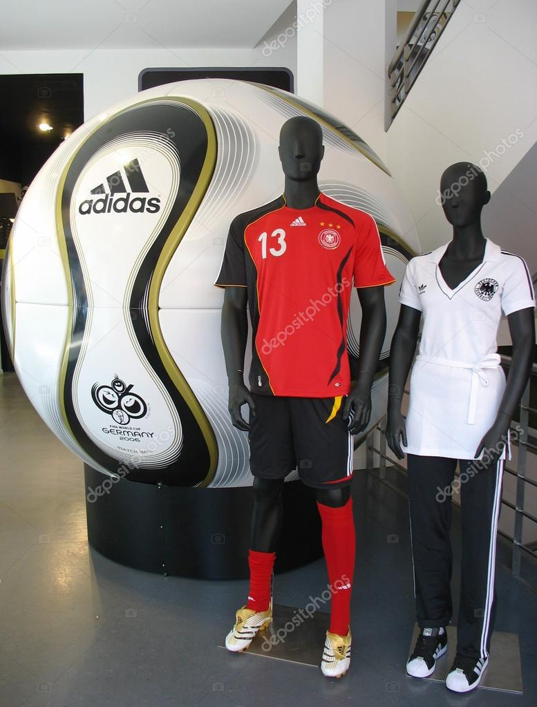 The Adidas Teamgeist soccer ball was the official match ball
