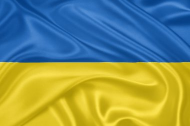The flag of Ukraine