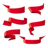 Červená stužka vzory