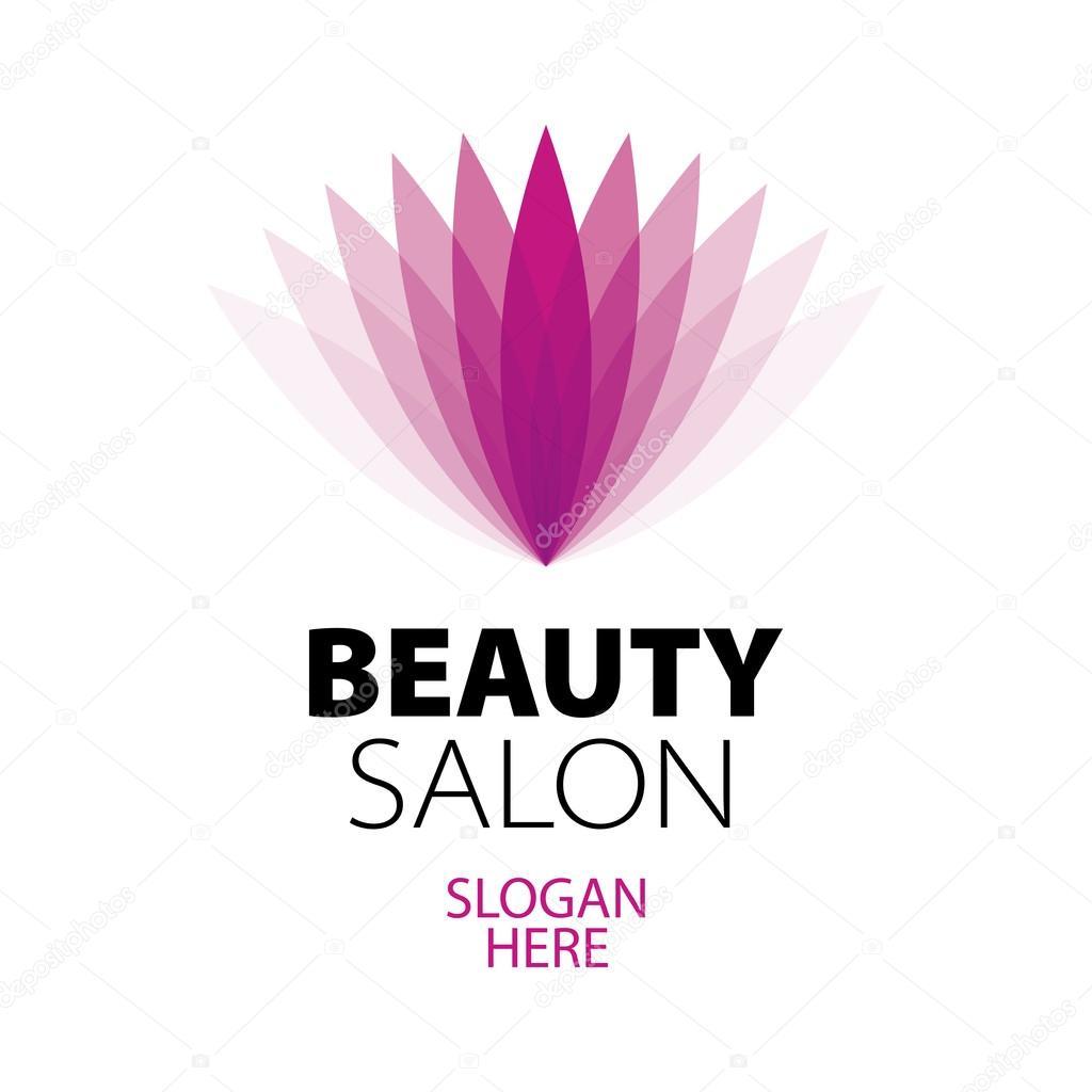 Beauty salon logo vector the image kid for Beauty hair salon