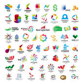 Fotografie Collection of vector icons for banks and financial companies