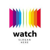 Fotografie Vektor-Logo-Palette von farbigen Ordnern