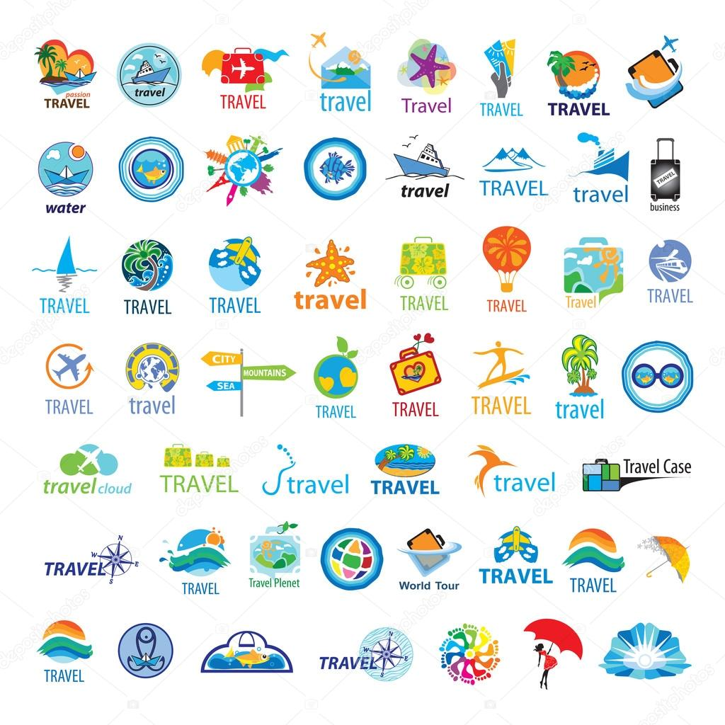 biggest collection of vector logos Travel