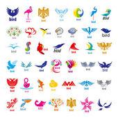 Fotografie größte Sammlung von Vektor-Logos-Vögel