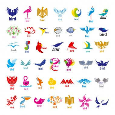 biggest collection of vector logos birds