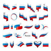legnagyobb gyűjtemény a vektoros zászlók, Oroszország