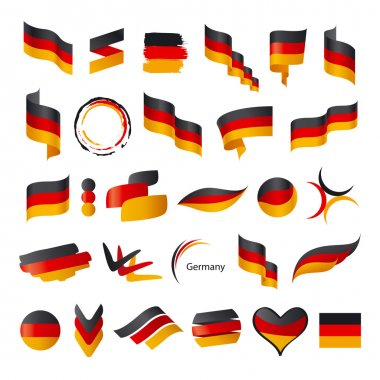 biggest collection of vector flag of Germany