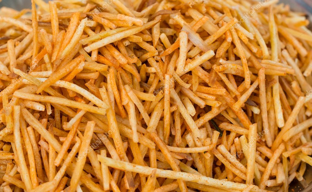 spicy french fries from India