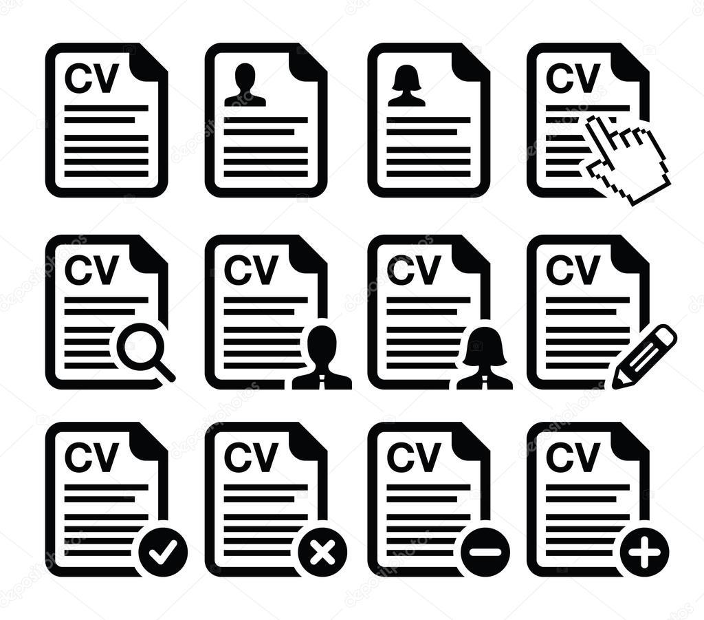 curriculum vitae resumes