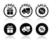 dárek zdarma, rozvoz zdarma, prodej ikony set