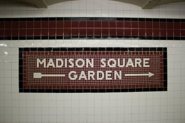 The Madison Square Garden Subway Station, NYC