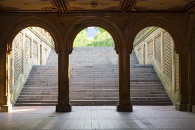Bethesda Terrace Arches, Central Park, New York