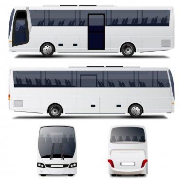 Vector City Bus