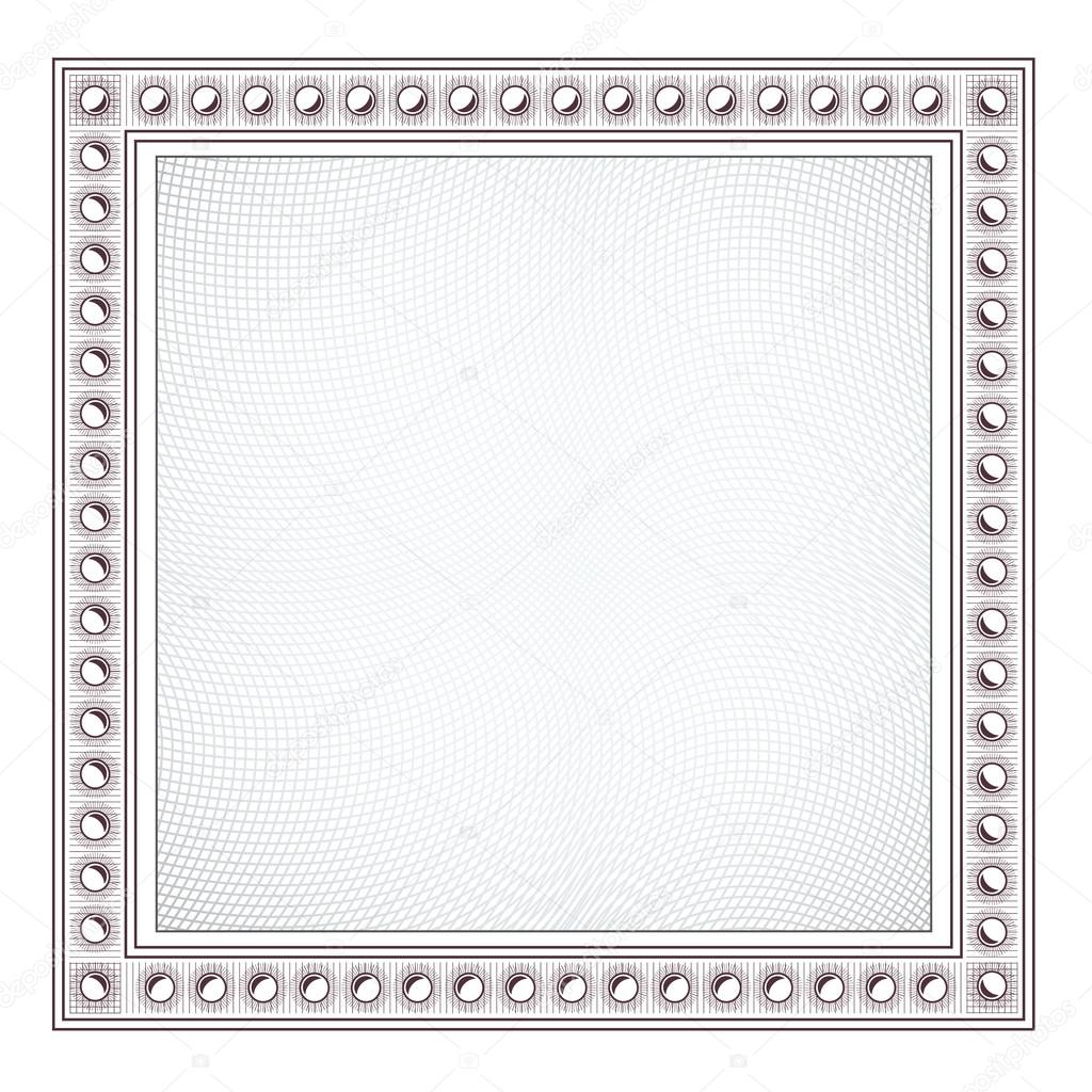 Blank Diploma Frame Template Stock Vector Robisklp 22450089