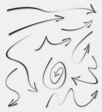Doodle Sketch Arrows