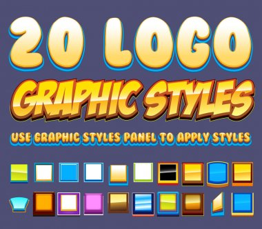Comic Logo Graphics Styles