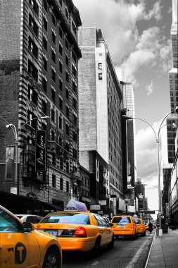 New York taxi cars