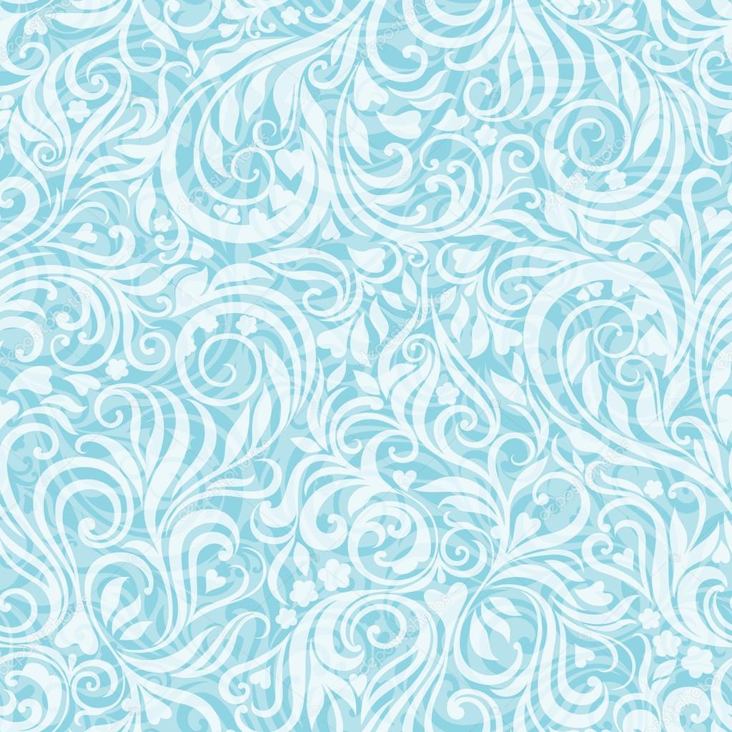 Seamless frosty pattern